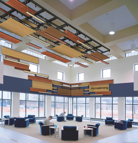 The winning design in the Discontinuous Ceilings ...