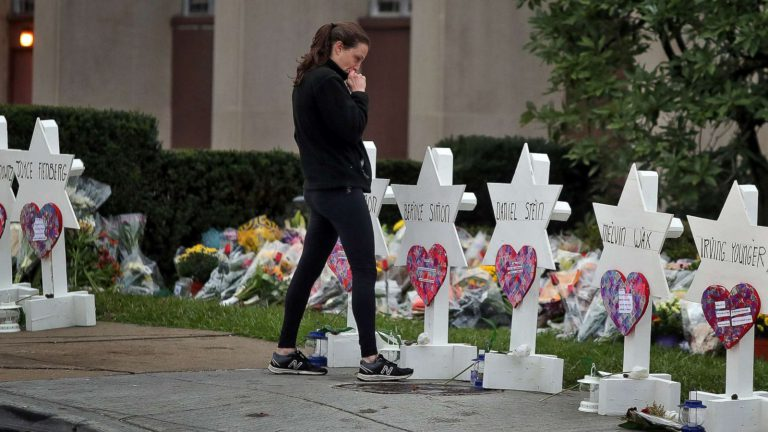 In what was the deadliest attack of Jewish people in U.S. history, eleven people were killed on October 27 at a synagogue in Squirrel Hill Pittsburgh