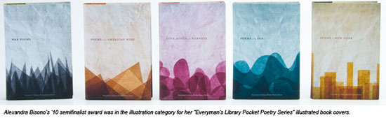 Poetry Book Cover Job : Graphic design students recognized with adobe