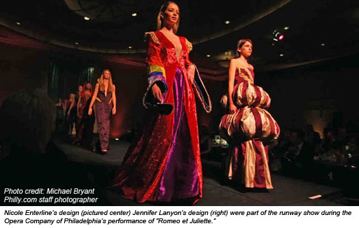 Fashion students design costumes for philadelphia opera Fashion design schools in philadelphia