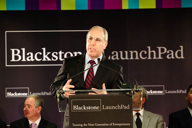 Blackstone LaunchPad Announcement for Entrepreneurship Center