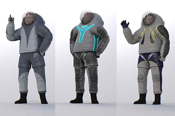 Nasa asks public to vote on new philau designed spacesuits for Space suit design