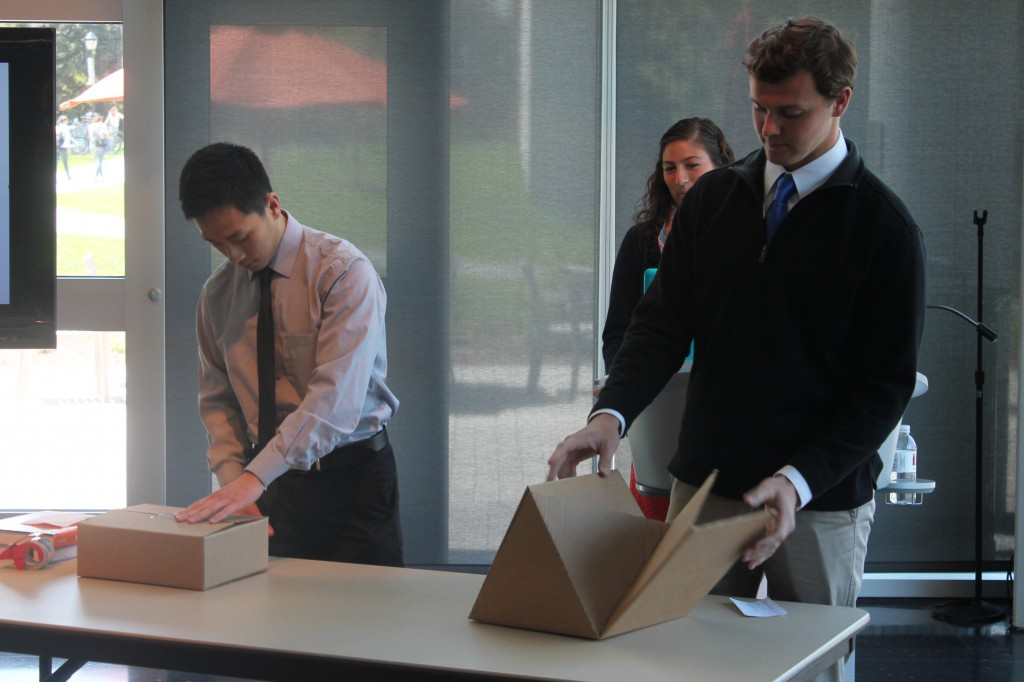 Student teams envision new packaging solutions with for Industrial design innovation