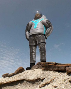 The winning spacesuit design by PhilaU engineering and fashion students. Image courtesy of NASA.