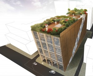 Fifth-year architecture student Bong Hei Wong took first place in the competition for his adaptive design of an old warehouse.
