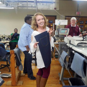 A fashion merchandising and management student gets a behind-the-scenes look at Vanity Fair.