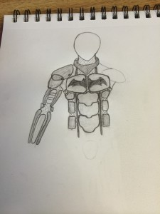 Gordon will release his designs for others to replicate once his Batsuit is complete.
