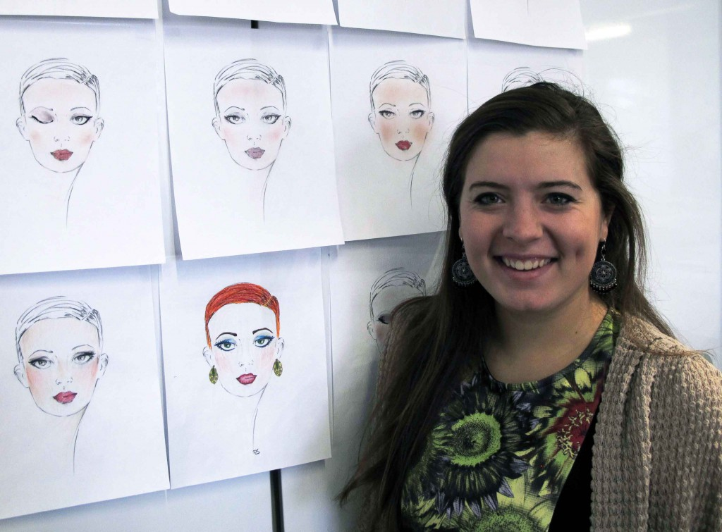 Ashlee Bowers' face chart illustration will soon be found in ULTA Beauty stores.