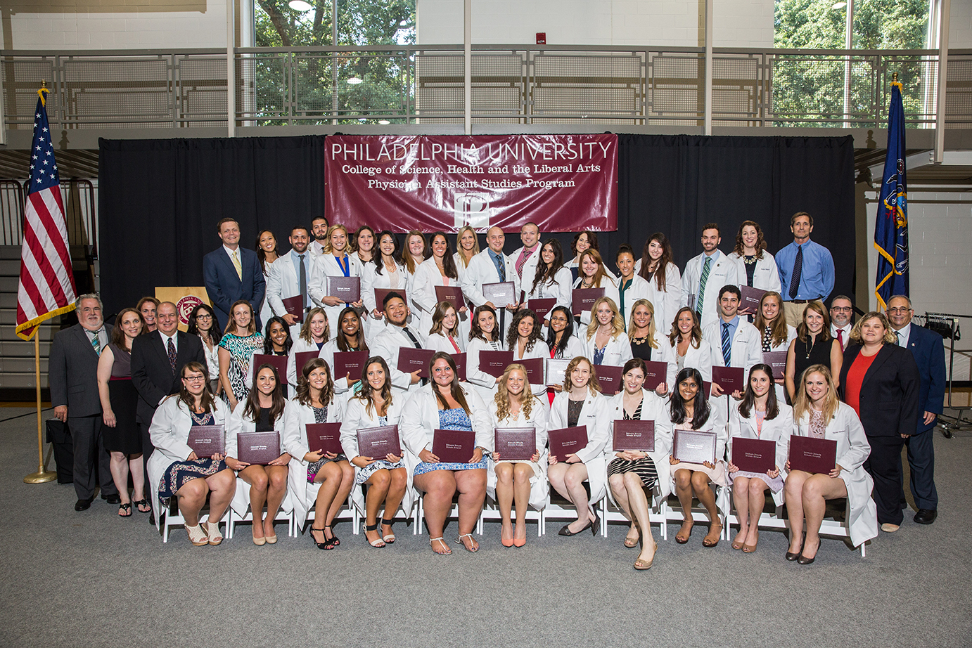 Physician Assistant Studies Class of 2015 and faculty members.