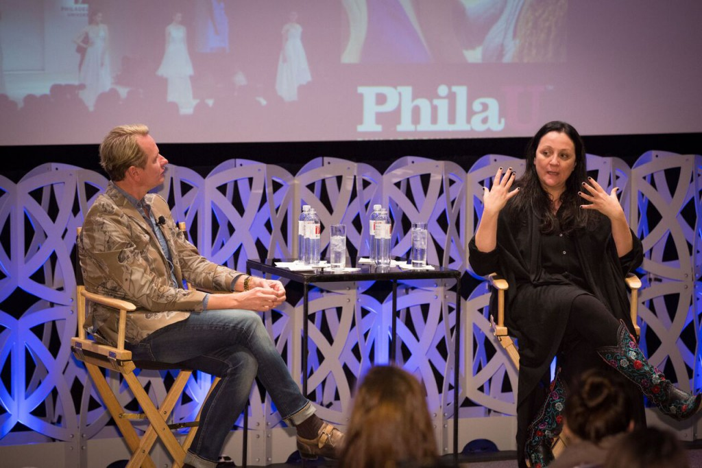 Fashion celebrities Kelly Cutrone and Carson Kressley share industry insights at PhilaU.