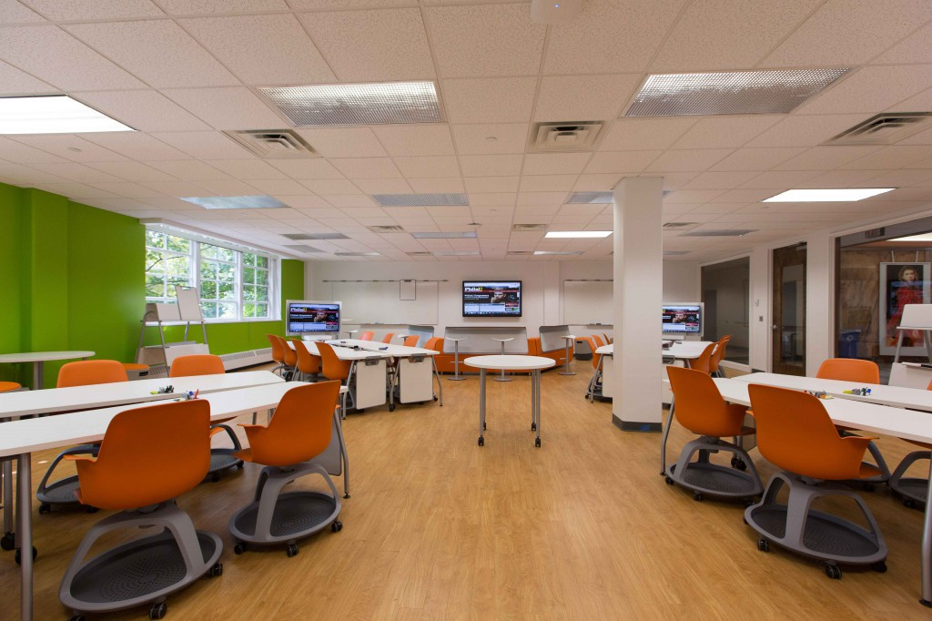 The Spinelli Family Nexus Learning Hub opened in summer 2014.