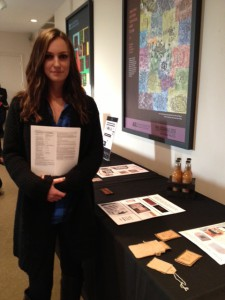 Molly Coleman received first honorable mention in the Collab student design competition.