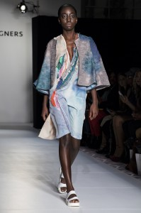 Cassie O'Toole's runway collection.