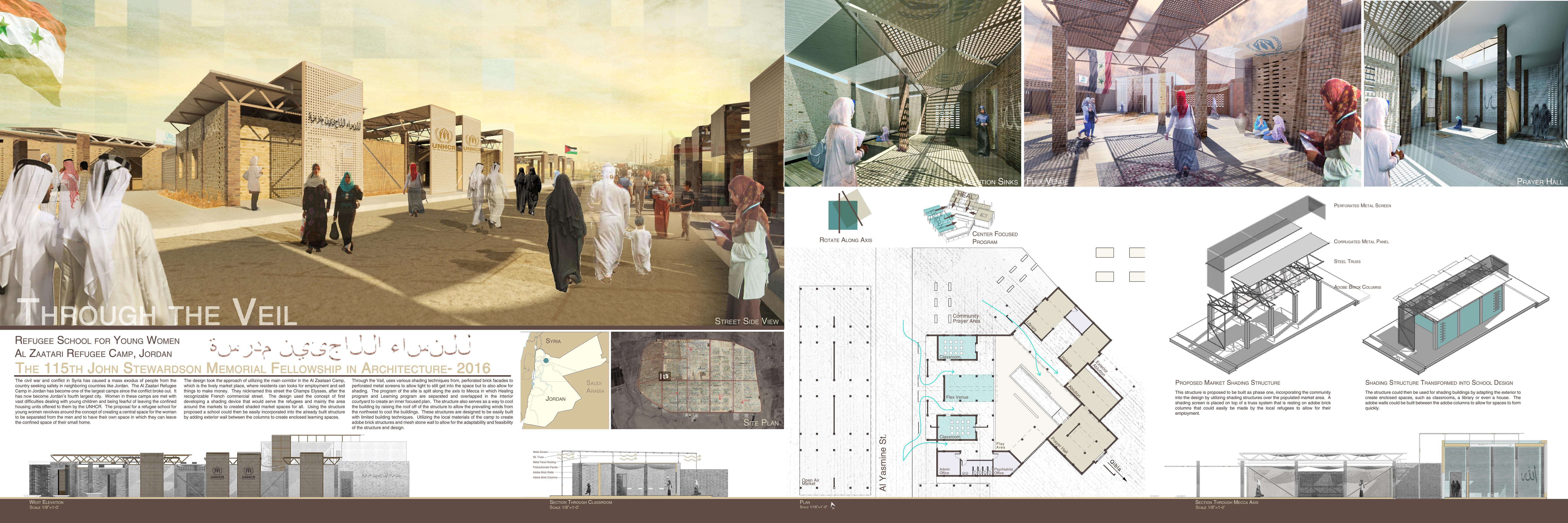 Philau architecture student wins first place in stewardson for Architecture house design competitions