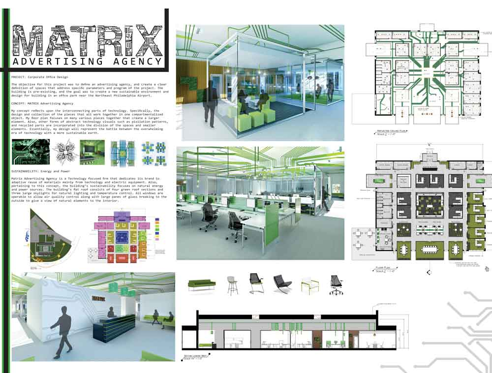 Philau interior design students take top prizes in iida for Interior design projects