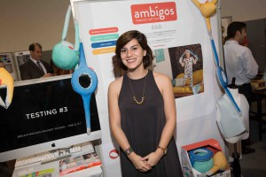 Industrial Design student Nicky Topete won an Entrepreneurship Award for her magnetic soft toys Ambigos.