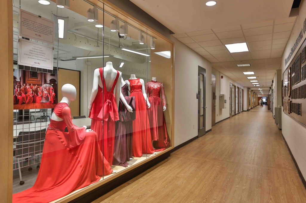 Fashion and textile students started classes in the state-of-the-art Fashion and Textiles Futures Center.