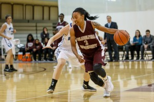 Bria Young is only the 14th female player in the Globetrotters' 90-year history and the first out of PhilaU's program.