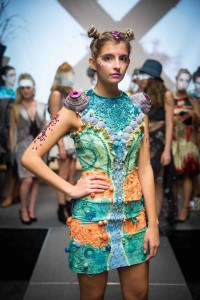 The colorful panther chameleon inspired Vivian Cooper's Design X piece.