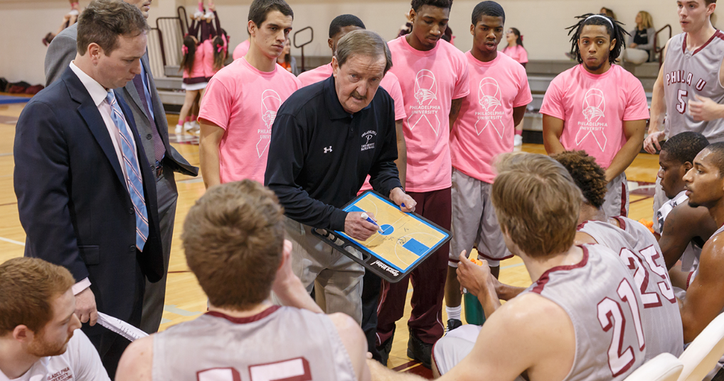 Herb Magee, who was inducted into the Naismith Memorial Basketball Hall of Fame in 2011, is one of the most decorated coaches in the history of the sport.