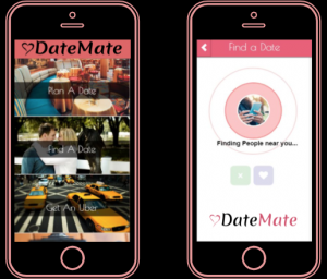 Date Mate, an app that curates the perfect date, was named runner up and innovation award winner.