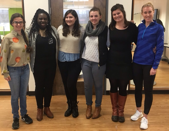 The winning PhilaU team of (l-r) Angela Villanueva, Itohan Asemota, Shana Kaplan, Jessica Roberts, Madeline Haas and Nicole Raab will share the $55,000 top prize. The winning PhilaU team of (l-r) Angela Villanueva, Itohan Asemota, Shana Kaplan, Jessica Roberts, Madeline Haas and Nicole Raab will share the $55,000 top prize for the Proof Challenge.