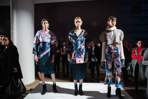 PhilaU student designs were featured at Epson's Digital Couture fashion event.