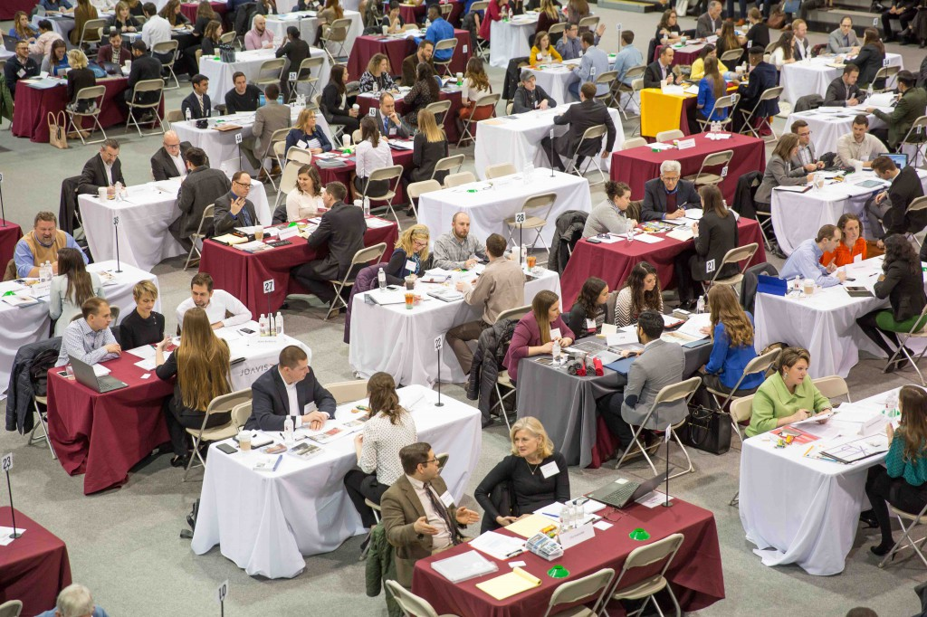 Philadelphia University's Design Expo attracted more than 80 leading firms.
