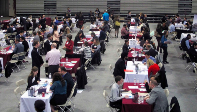 PhilaU's Design Expo attracted more than 80 leading firms.