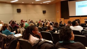 Philadelphia school counselors attended a training session on child trauma at PhilaU.