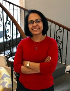 Anusua Datta, the Robert P. '76 and Kathleen F. Smith Term Chair for Economics