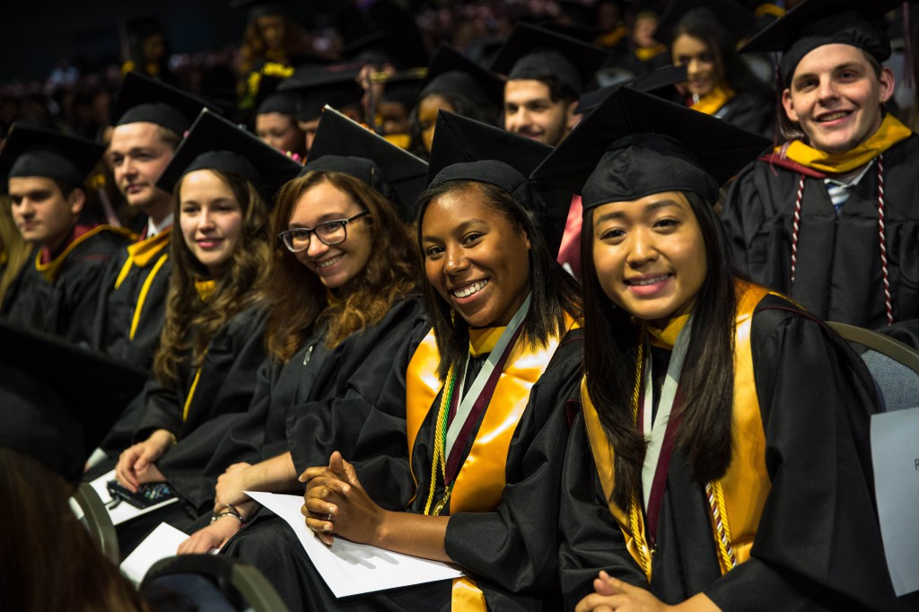 More than 1,000 students received their degrees at PhilaU's Commencement at the Pennsylvania Convention Center.