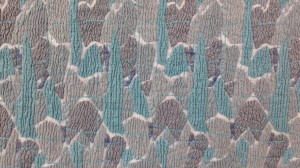 Alumna Louise Sandstroem '17 won first place in the jacquard design category.