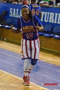 Bria Young is only the 14th female player in the Globetrotters' 91-year history and the first out of PhilaU's program.
