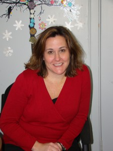 Megan Mills mentors and counsels PhilaU students in their academic pursuits.