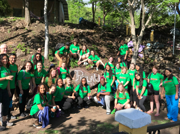 In Honduras, PhilaU students delivered medical and dental treatment, distributed hygiene packs, donated clothes, taught students about the importance of recycling and built eco-stoves for families.