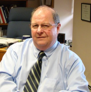 Since starting here in 1989, Tom Becker has embraced PhilaU's continuous expansion.