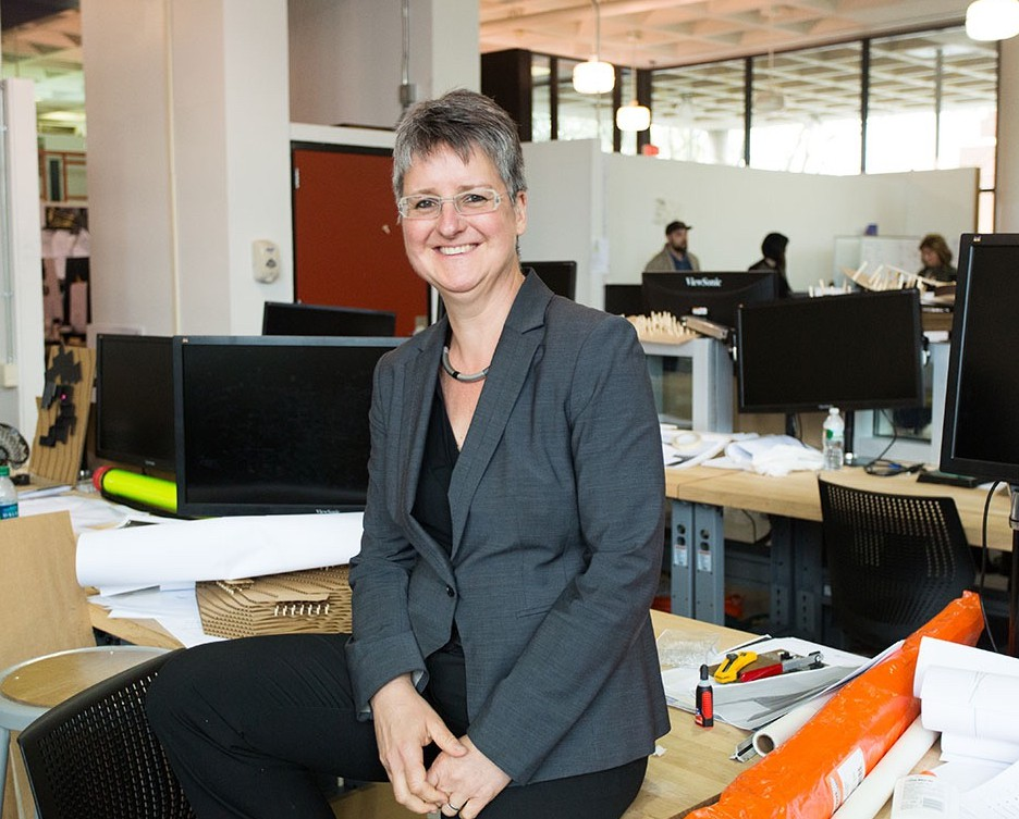 Barbara Klinkhammer, dean of the College of Architecture and the Built Environment, has been selected to chair the national Leadership Committee of the Association of Collegiate Schools of Architecture.