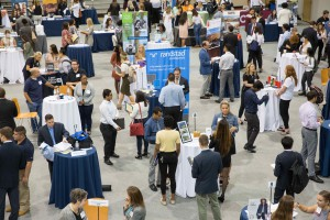 The Career Fair attracted students from freshman to graduate level from a wide variety of programs.