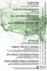 The College ofArchitectureand the Built Environment has invited prominent architects and designersto campus for the Fall Lecture Series.