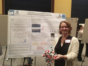 Mary Ann Wagner-Graham, Ph.D., presented her study on sucralose changes how bacteria uses natural sugar.