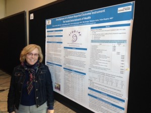 Barbara Hackley presented her research at the PROMIS in Action meeting in Philadelphia.