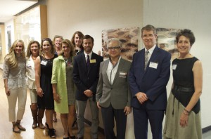 Representatives from ITA and Jefferson attended the naming ceremony.