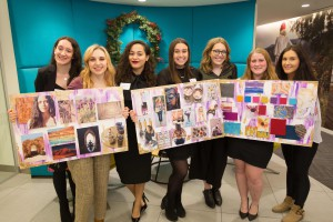 Throughout the semester, students collaborated with design and merchandising experts at Li & Fung.