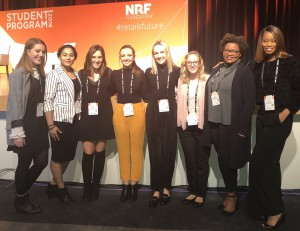 Eight Jefferson students attended NRF, the largest retail conference in the country.