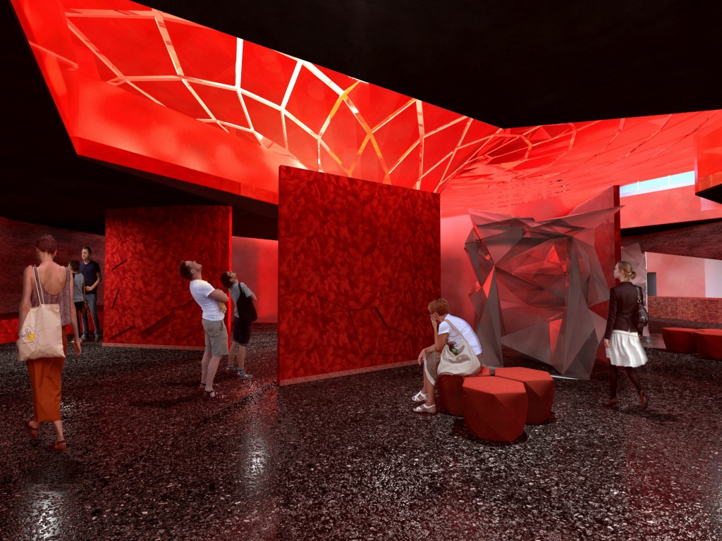 Monica Tabet won for Phoenix Rising, a museum dedicated to feminism and domestic violence.