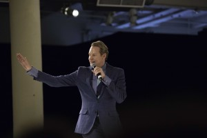Fashion celebrity Carson Kressley H'13 called it a privilege to interact with Jefferson's talented, dedicated and passionate students.