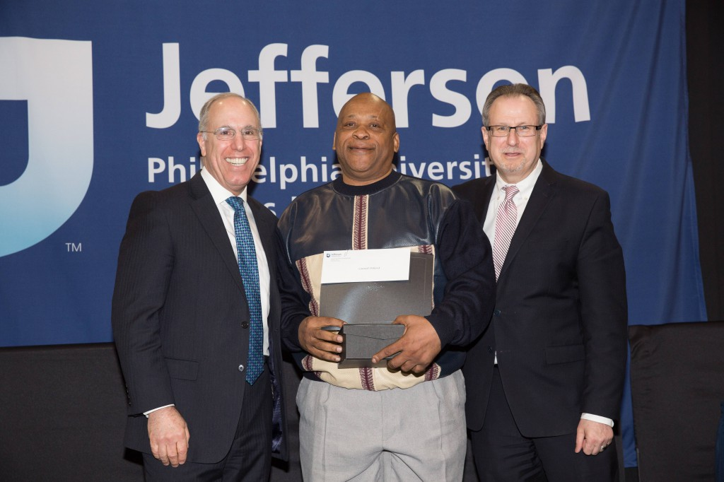 Connell Dillard won the Spirit of Continuing Education Award.