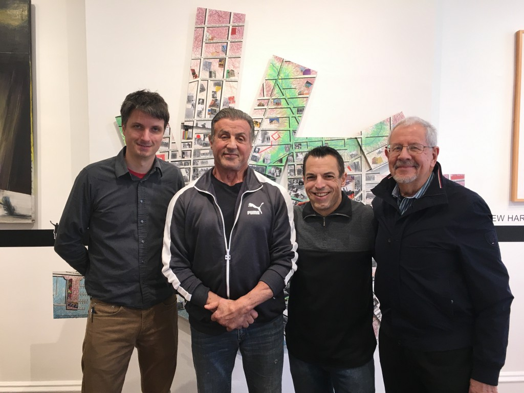 """Sylvester Stallone visited """"Rocky (re)Runs"""" to learn more about the creative process behind the show."""