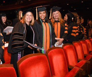"""Provost Tykocinski urged graduates """"look to cross boundaries and innovate at the edges."""""""